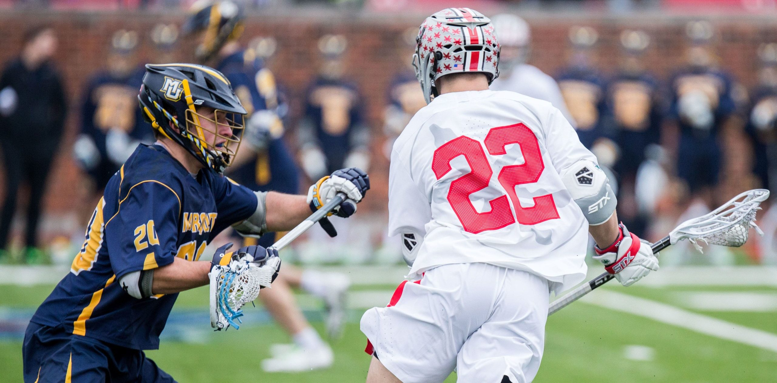 Marquette University Lacrosse Player Nick Singleton from Wheaton, Illinois