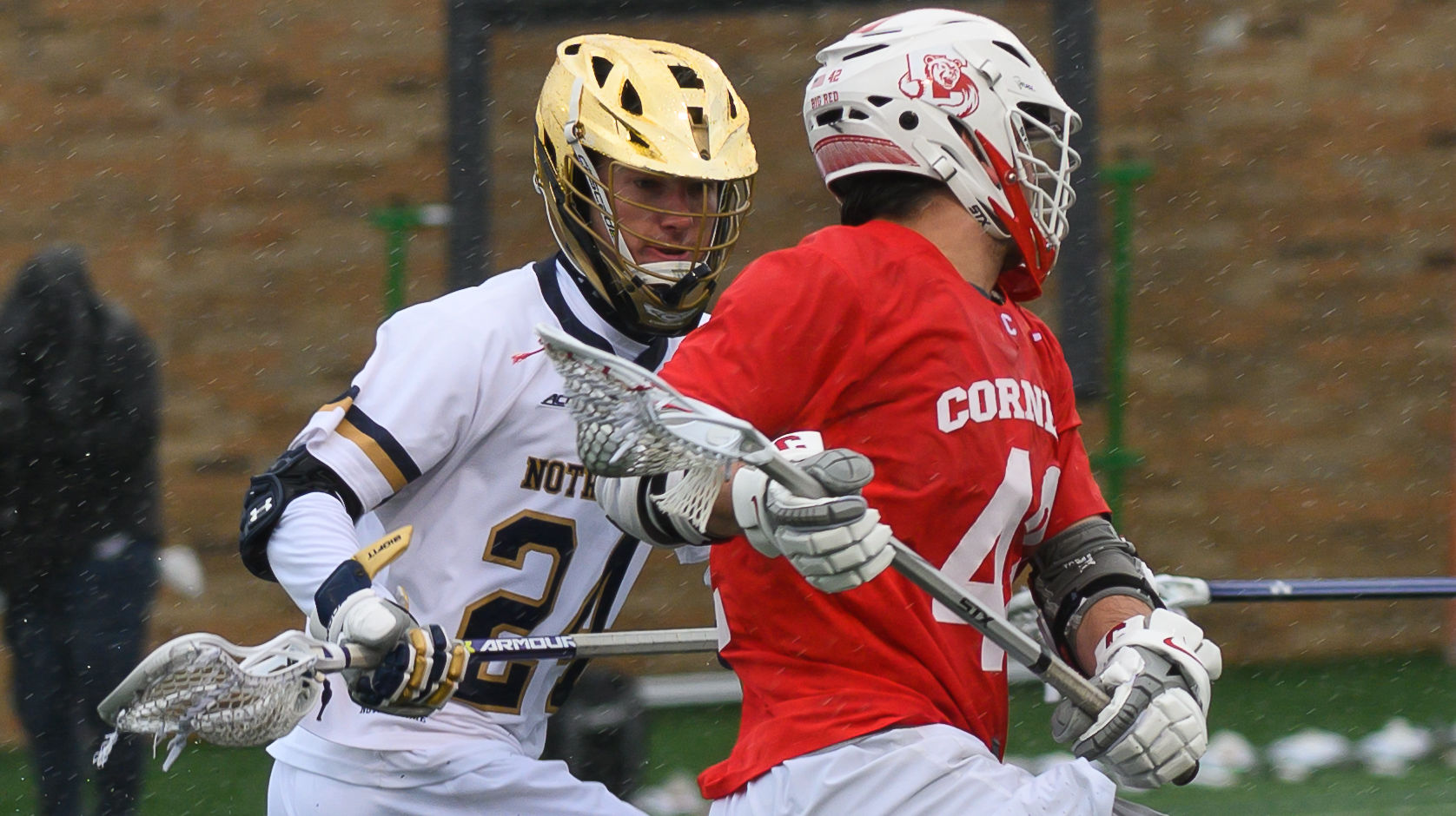 Notre Dame Lacrosse Player John Hallenbeck from Indianapolis, Indiana