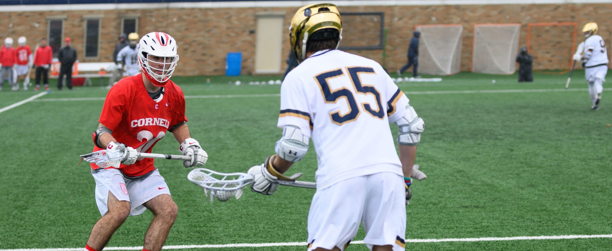 Notre Dame Lacrosse's Wheaton Jackoboice from Kansas City, Missouri