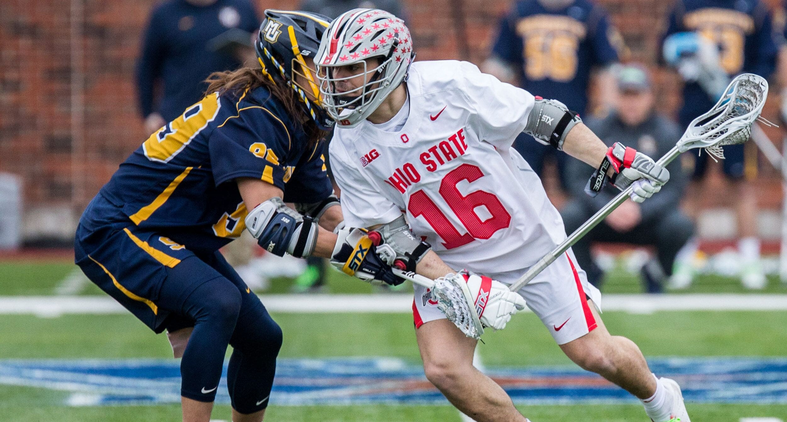 Ohio State Lacrosse's Nick Musci from Waterville, Ohio