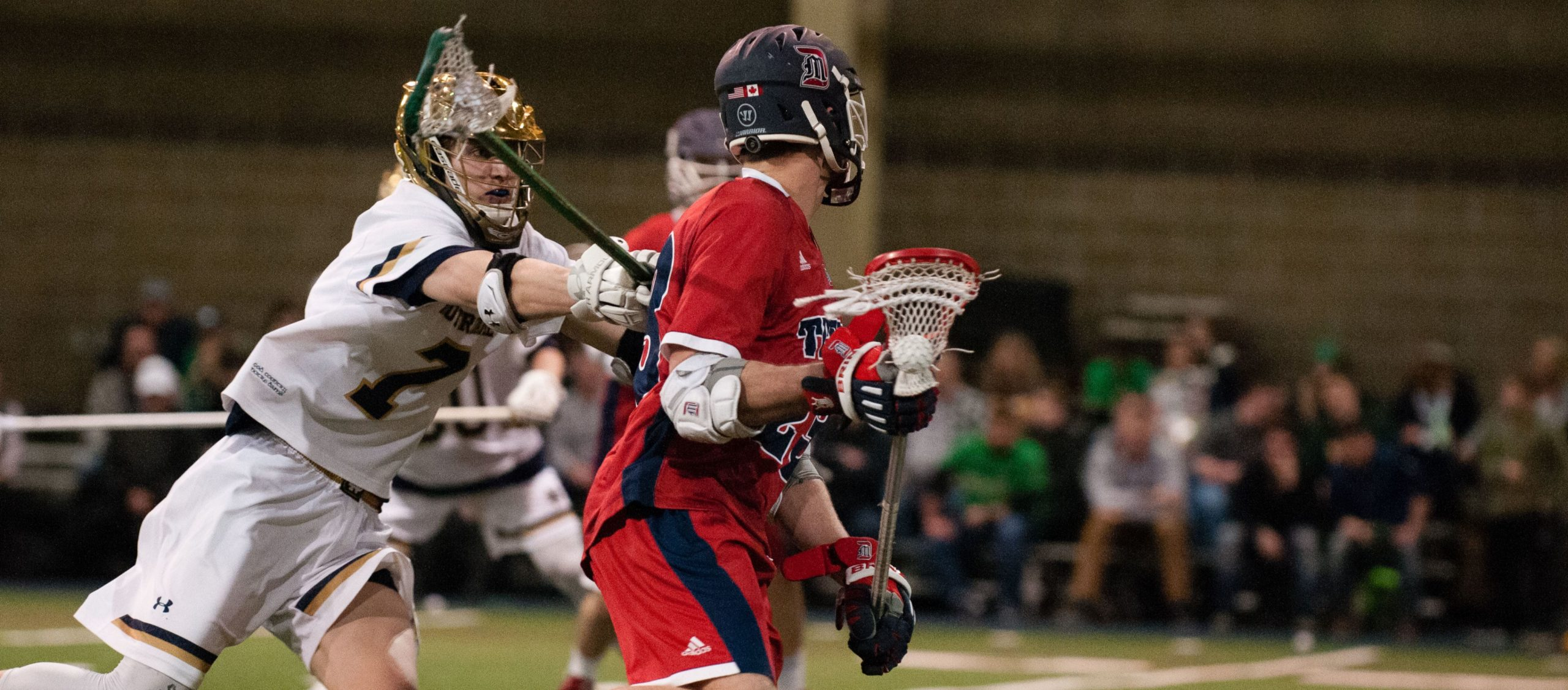Notre Dame Lacrosse's Eric Restic from Lake Oswego, Oregon