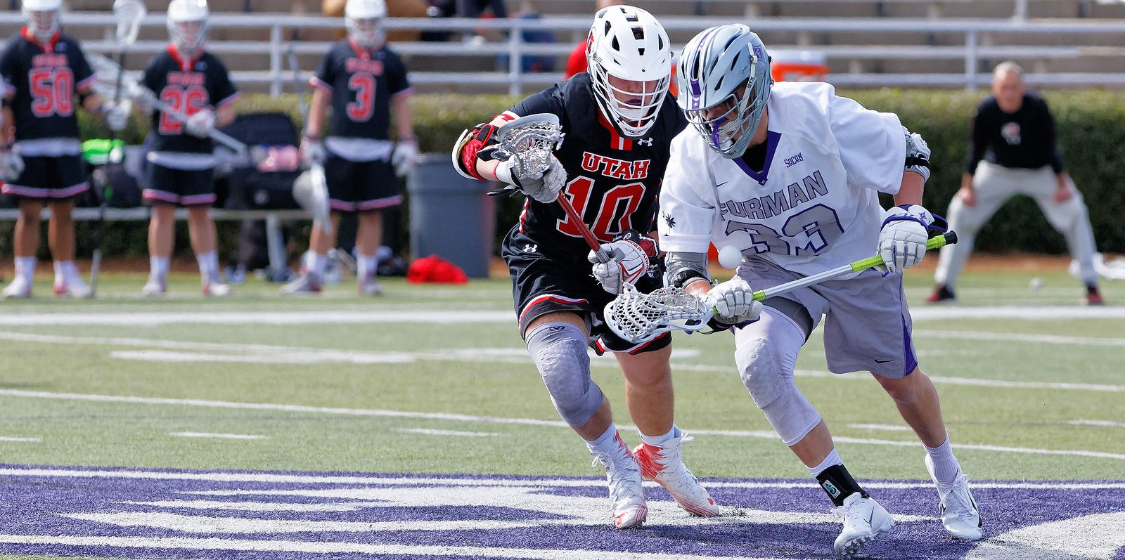 Furman Lacrosse's Sage Reith from Chattanooga, Tennessee