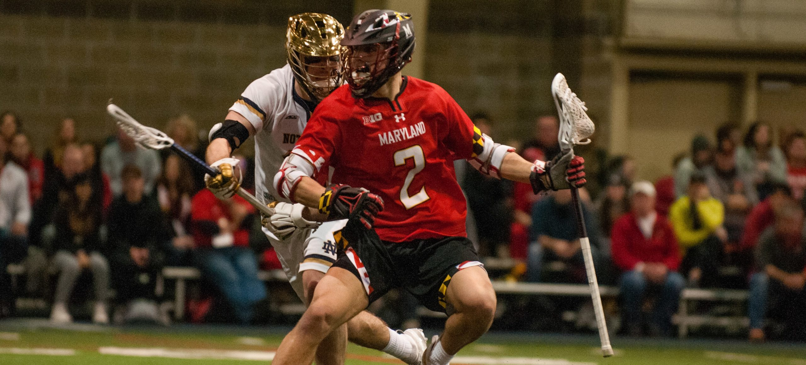 Maryland Lacrosse's Bubba Fairman from Sandy, Utah