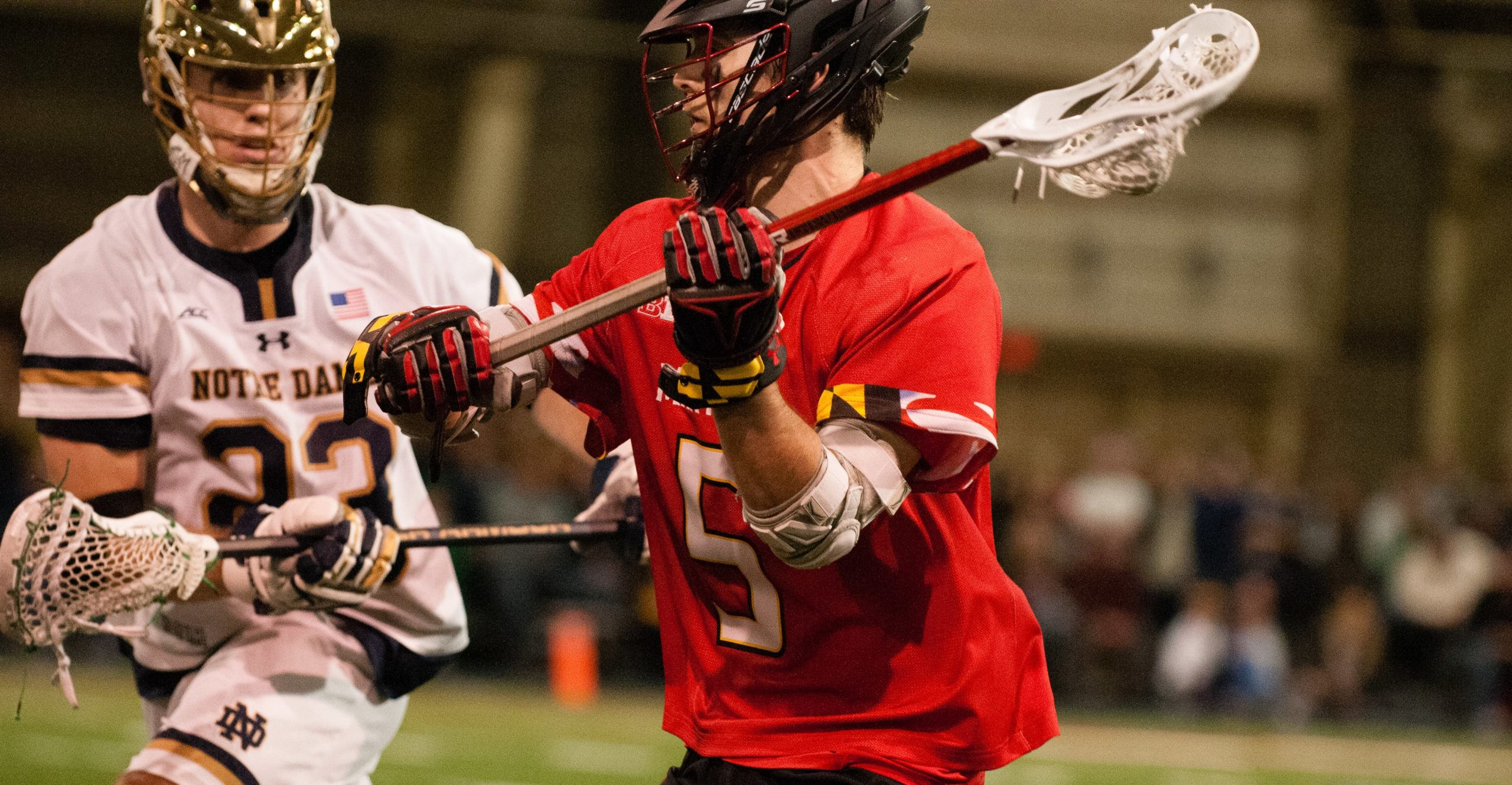 Maryland Lacrosse's Will Snider from Seattle, Washington