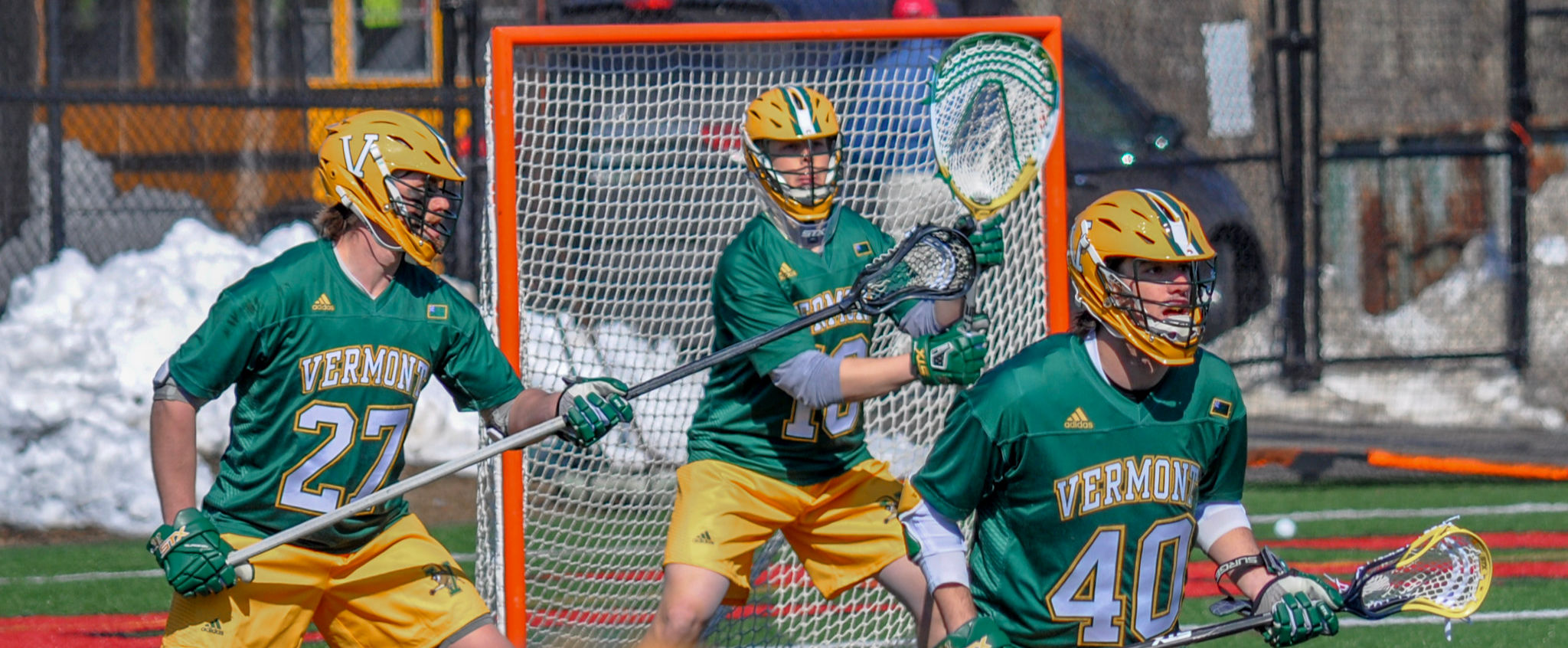 University of Vermont Lacrosse's Nick Washuta from Orono, Minnesota