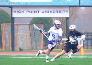 Ben Baker High Point Lacrosse