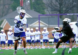 Asher Nolting High Point Lacrosse