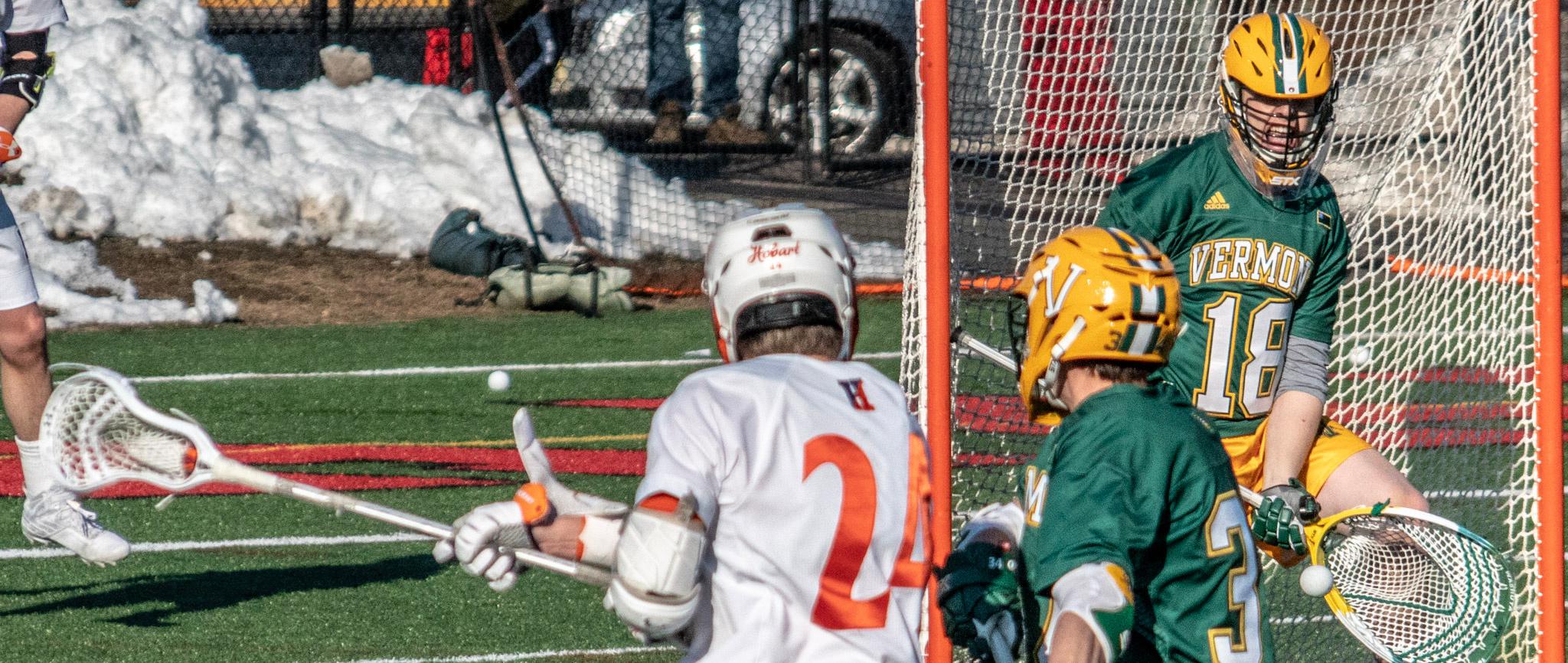Minnesota's Nick Washuta Vermont Lacrosse