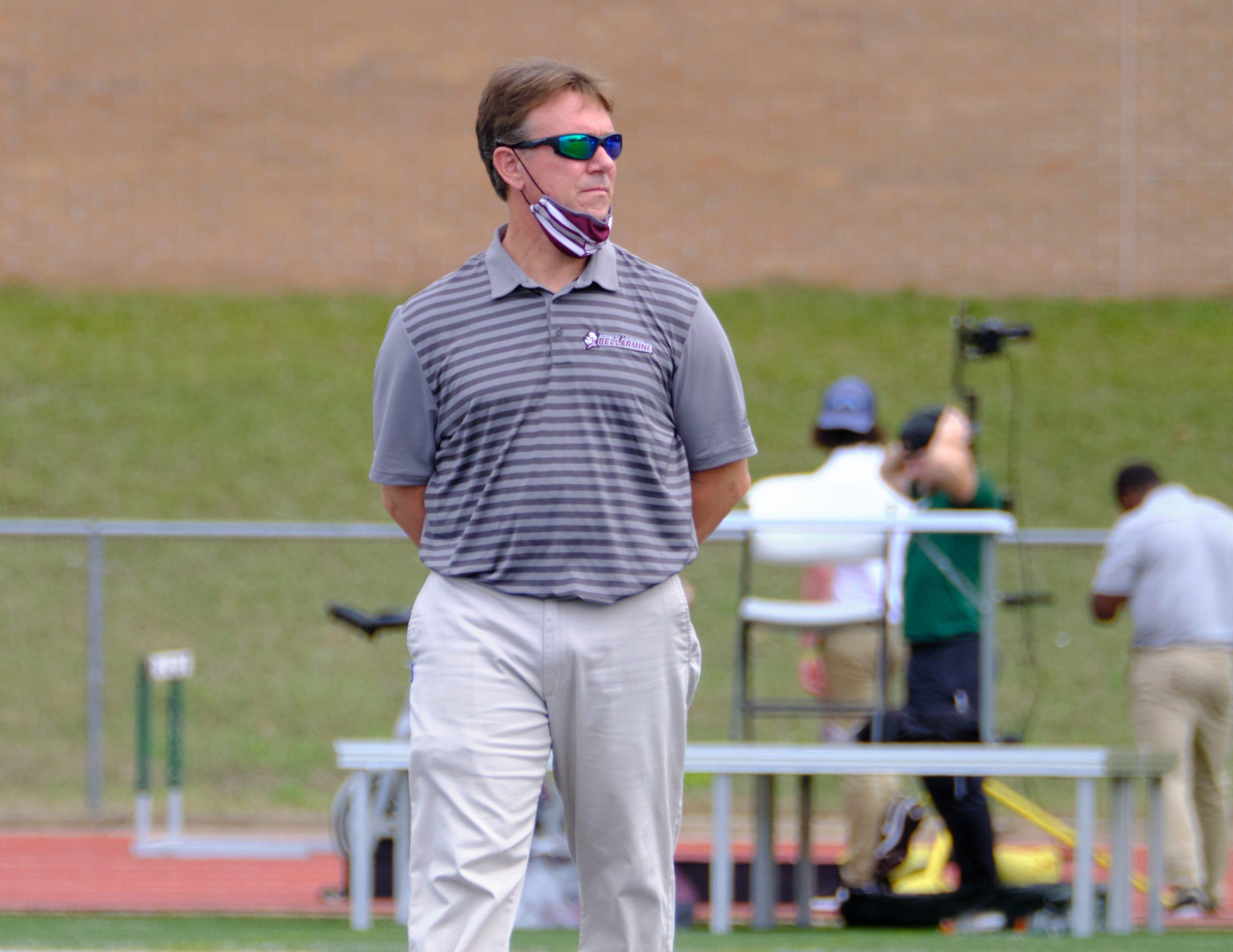 Bellarmine Lacrosse Coach Andrew Whitley 2021