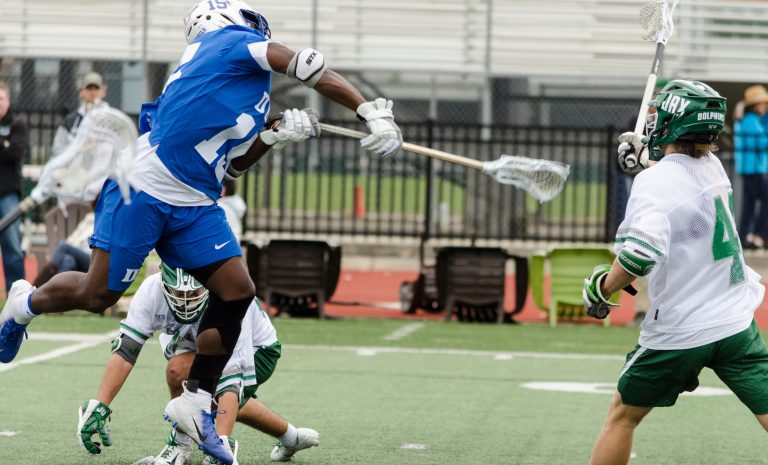Dallas, Texas's Nakeie Montgomery Duke Lacrosse