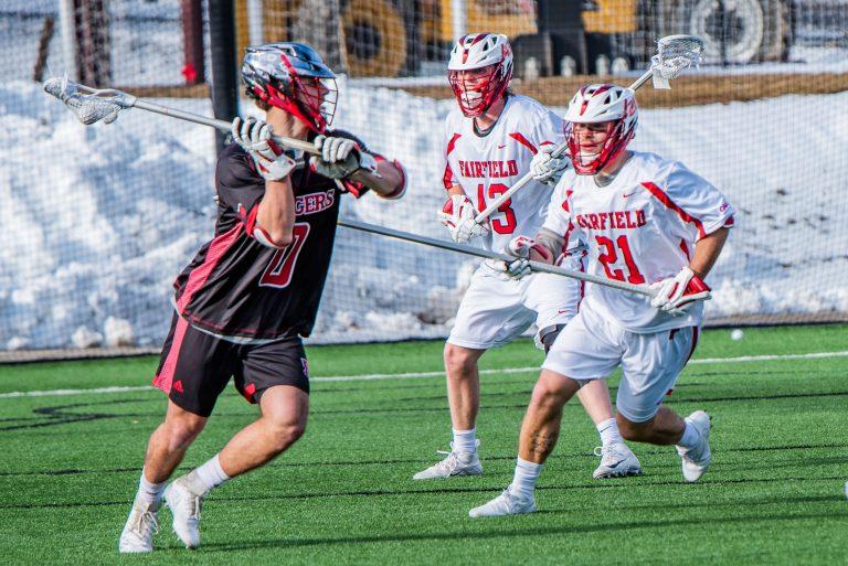 Dallas's David Sprock Rutgers Lacrosse