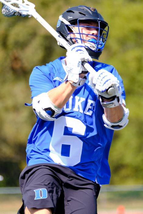 Apex's Jake Caputo Duke Lacrosse