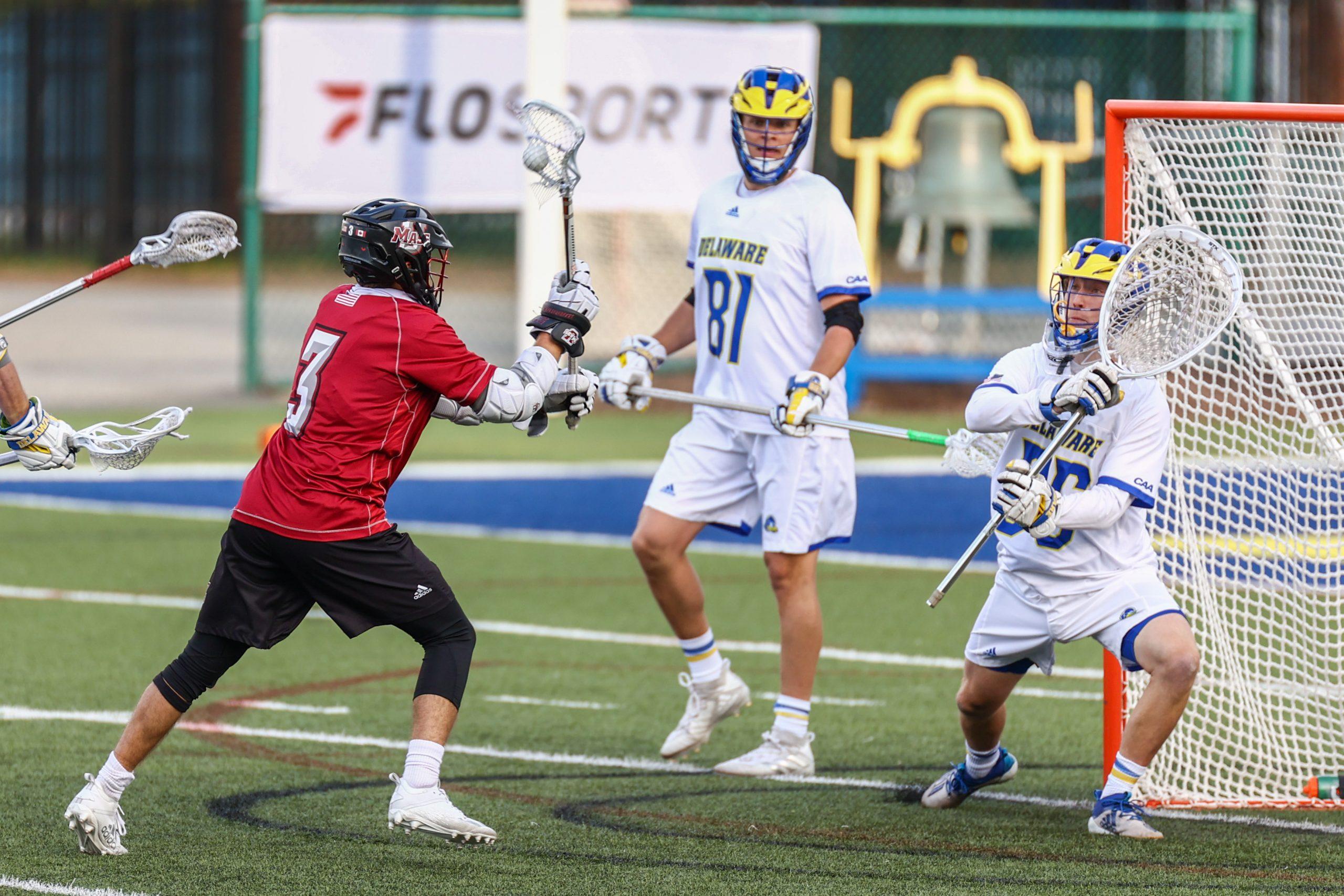 Devin Spencer UMASS Lacrosse Matt Kilkeary Delaware