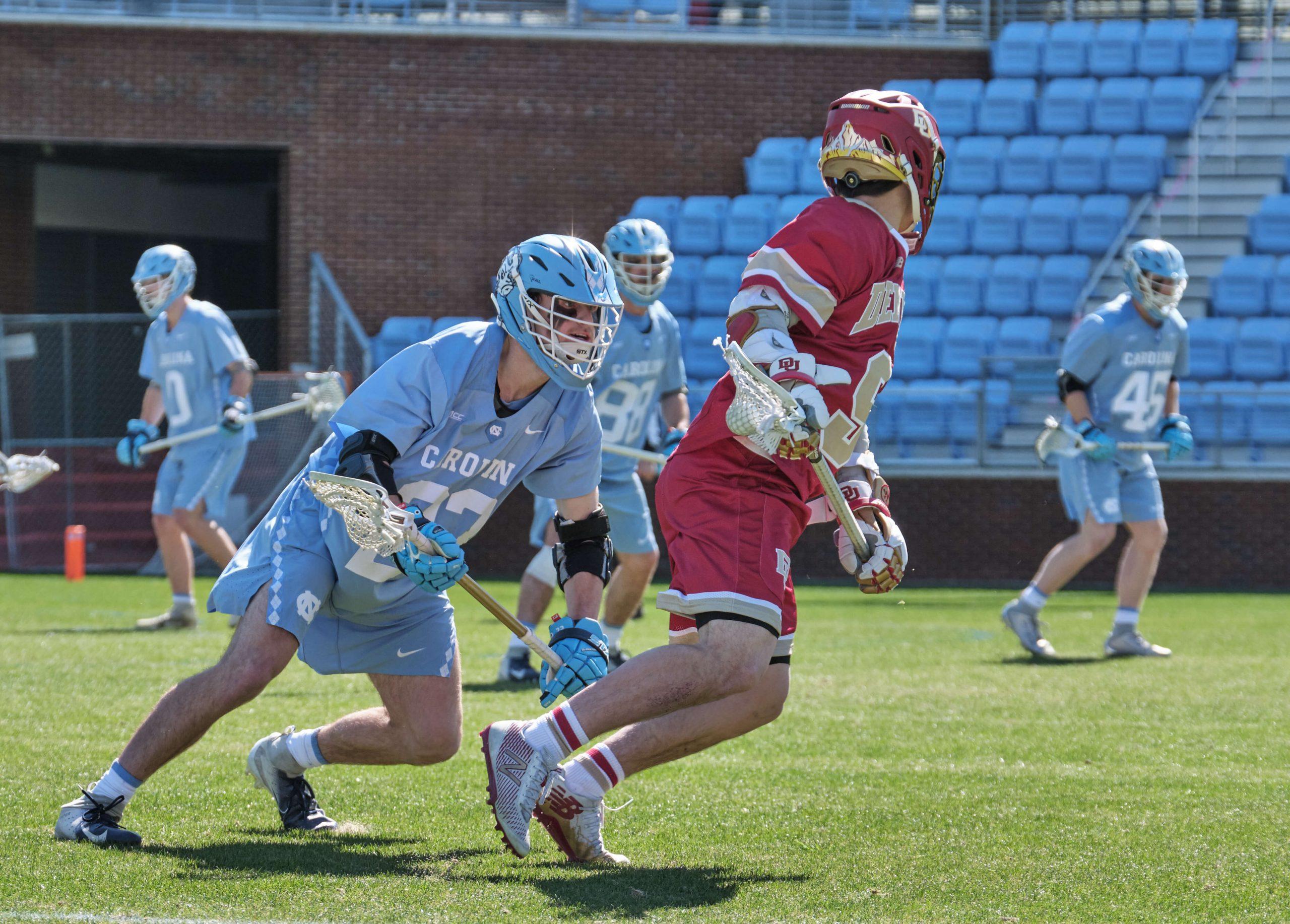 Parker Alexander UNC Lacrosse